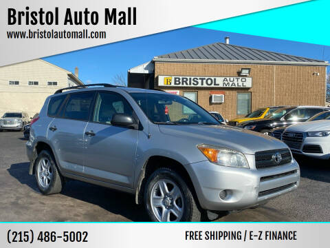 2008 Toyota RAV4 for sale at Bristol Auto Mall in Levittown PA