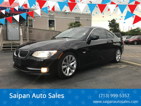 2011 BMW 3 Series for sale at Saipan Auto Sales in Houston TX
