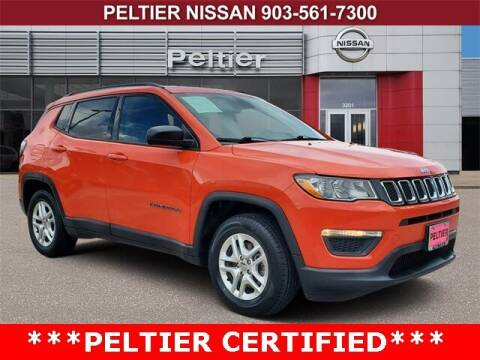 2018 Jeep Compass for sale at TEX TYLER Autos Cars Trucks SUV Sales in Tyler TX