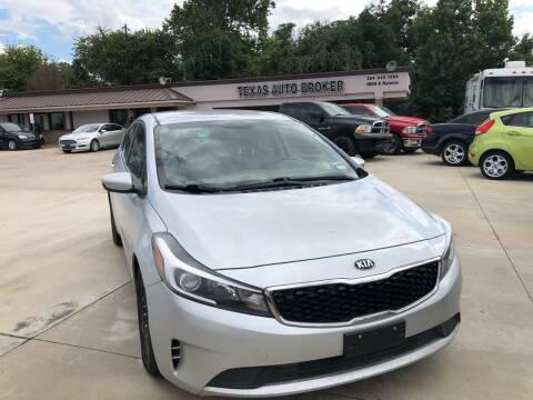2017 Kia Forte for sale at Texas Auto Broker in Killeen TX