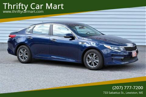 2016 Kia Optima for sale at Thrifty Car Mart in Lewiston ME