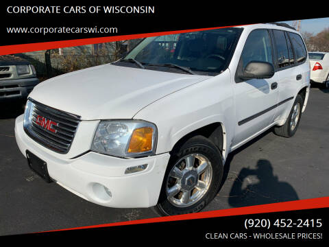 2007 GMC Envoy for sale at CORPORATE CARS OF WISCONSIN in Sheboygan WI
