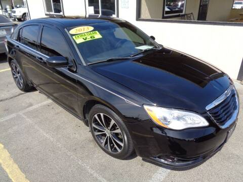 2013 Chrysler 200 for sale at BBL Auto Sales in Yakima WA