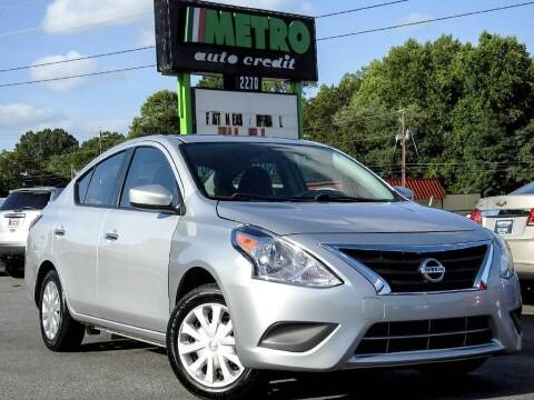 2017 Nissan Versa for sale at Used Imports Auto - Metro Auto Credit in Smyrna GA