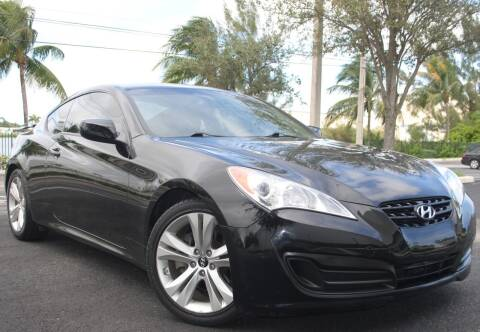 2012 Hyundai Genesis Coupe for sale at Maxicars Auto Sales in West Park FL