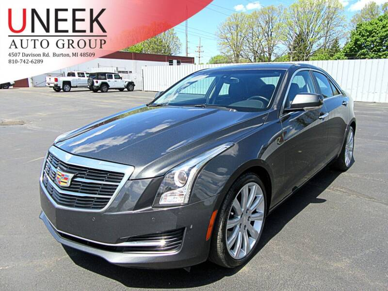 2015 Cadillac ATS for sale at Uneek Auto Group LLC in Burton MI