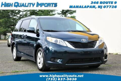 2011 Toyota Sienna for sale at High Quality Imports in Manalapan NJ