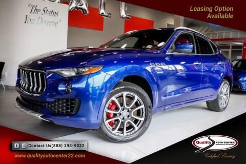 2017 Maserati Levante for sale at Quality Auto Center in Springfield NJ