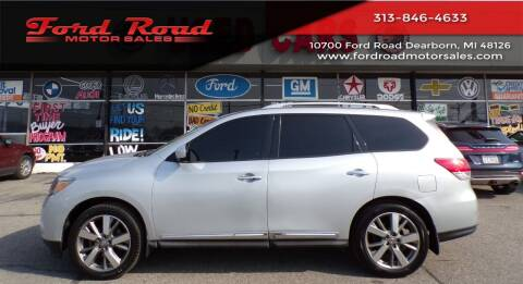 2013 Nissan Pathfinder for sale at Ford Road Motor Sales in Dearborn MI