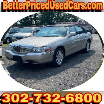 2008 Lincoln Town Car for sale at Better Priced Used Cars in Frankford DE