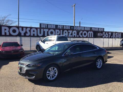 2016 Chevrolet Malibu for sale at Roy's Auto Plaza 2 in Amarillo TX