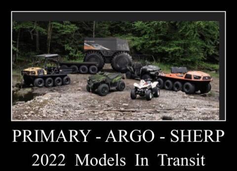 2022 Argo Amphibious Aurora Bigfoot for sale at Primary Auto Group in Dawsonville GA