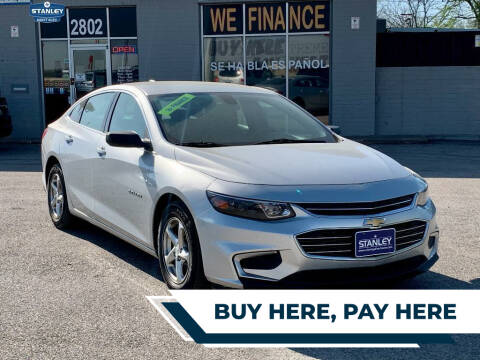2016 Chevrolet Malibu for sale at Stanley Direct Auto in Mesquite TX