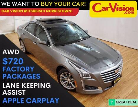 2017 Cadillac CTS for sale at Car Vision Mitsubishi Norristown in Trooper PA