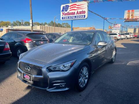 2015 Infiniti Q50 for sale at Nations Auto Inc. II in Denver CO
