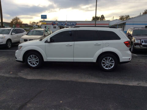 2014 Dodge Journey for sale at BISHOP MOTORS inc. in Mount Carmel IL