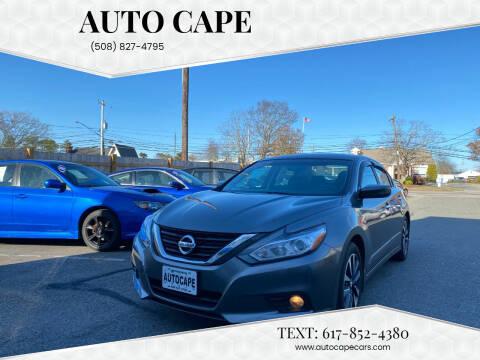 2016 Nissan Altima for sale at Auto Cape in Hyannis MA