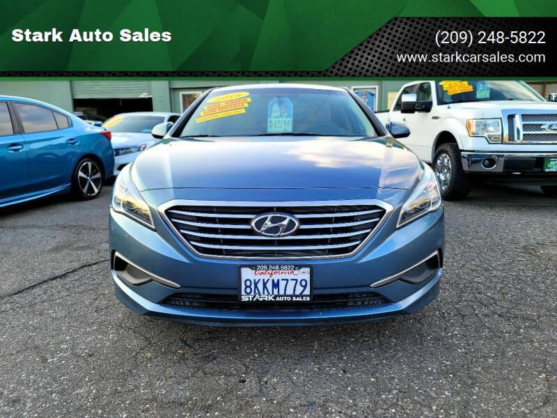 2016 Hyundai Sonata for sale at Stark Auto Sales in Modesto CA