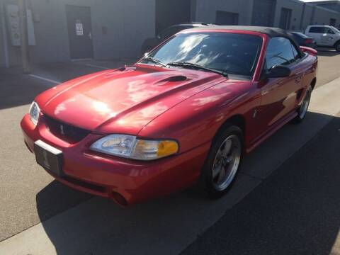1998 Ford Mustang SVT Cobra for sale at The Car Buying Center in St Louis Park MN
