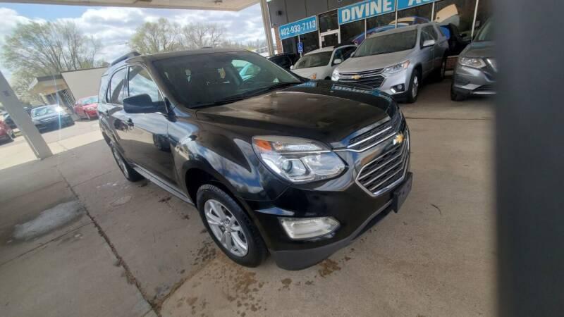 2017 Chevrolet Equinox for sale at Divine Auto Sales LLC in Omaha NE