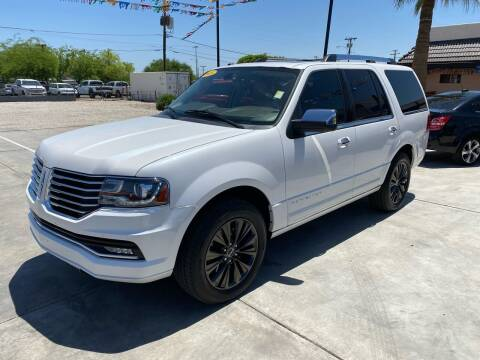 2015 Lincoln Navigator for sale at A AND A AUTO SALES in Gadsden AZ