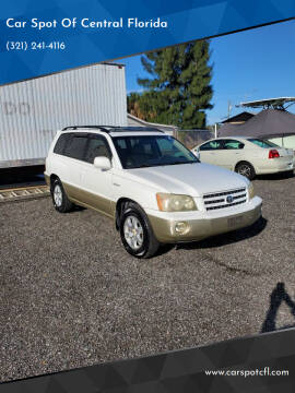 2003 Toyota Highlander for sale at Car Spot Of Central Florida in Melbourne FL