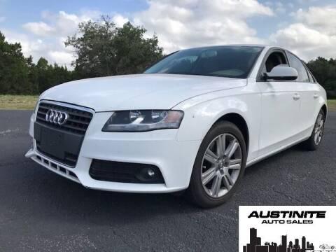 2011 Audi A4 for sale at Austinite Auto Sales in Austin TX