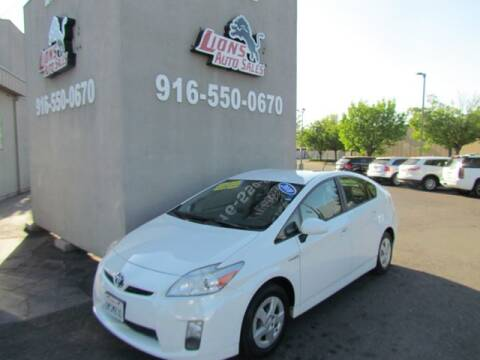 2010 Toyota Prius for sale at LIONS AUTO SALES in Sacramento CA