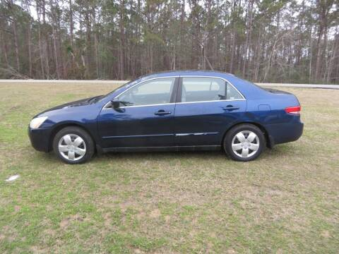 2004 Honda Accord for sale at Ward's Motorsports in Pensacola FL