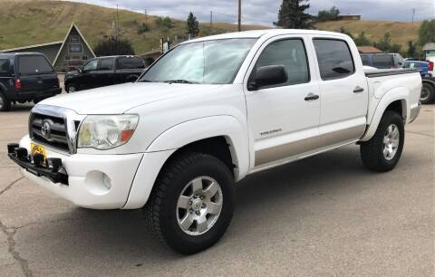 2010 Toyota Tacoma for sale at Central City Auto West in Lewistown MT