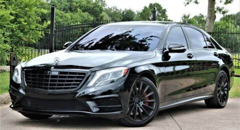 2015 Mercedes-Benz S-Class for sale at Texas Auto Corporation in Houston TX