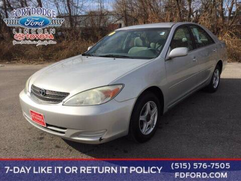 2003 Toyota Camry for sale at Fort Dodge Ford Lincoln Toyota in Fort Dodge IA