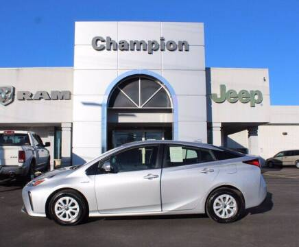 2019 Toyota Prius for sale at Champion Chevrolet in Athens AL