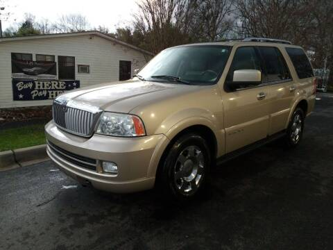 2006 Lincoln Navigator for sale at TR MOTORS in Gastonia NC