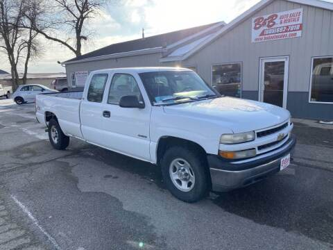 2001 Chevrolet Silverado 1500 for sale at B & B Auto Sales in Brookings SD