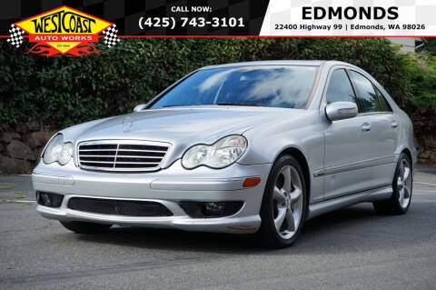 2006 Mercedes-Benz C-Class for sale at West Coast Auto Works in Edmonds WA