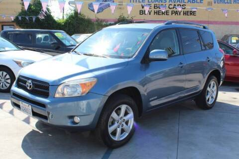 2008 Toyota RAV4 for sale at Good Vibes Auto Sales in North Hollywood CA