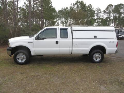 2006 Ford F-250 Super Duty for sale at Ward's Motorsports in Pensacola FL