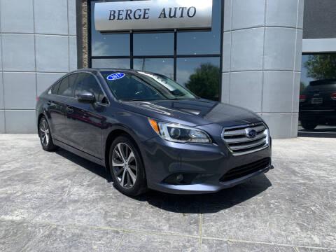2017 Subaru Legacy for sale at Berge Auto in Orem UT