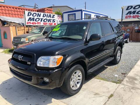 2007 Toyota Sequoia for sale at DON DIAZ MOTORS in San Diego CA