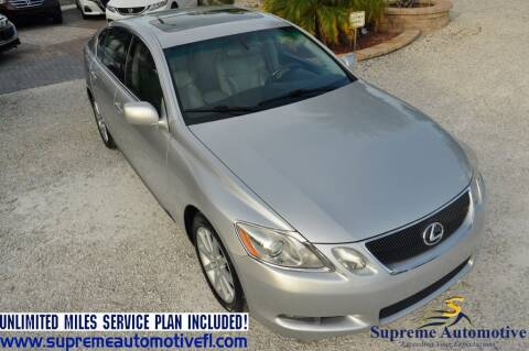 2006 Lexus GS 300 for sale at Supreme Automotive in Land O Lakes FL