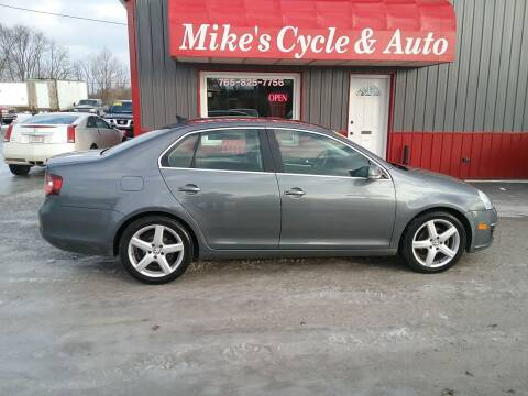 2009 Volkswagen Jetta for sale at MIKE'S CYCLE & AUTO in Connersville IN
