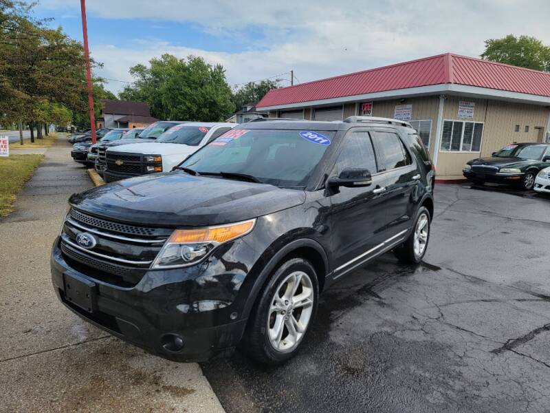 2011 Ford Explorer for sale at THE PATRIOT AUTO GROUP LLC in Elkhart IN