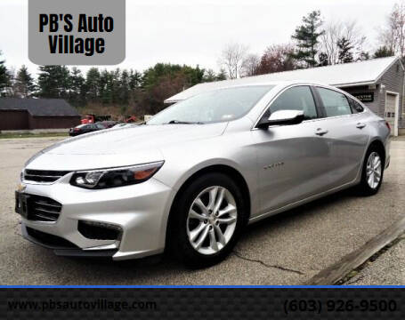 2018 Chevrolet Malibu for sale at PB'S Auto Village in Hampton Falls NH