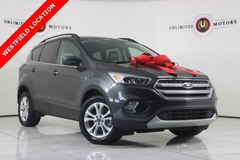 2019 Ford Escape for sale at INDY'S UNLIMITED MOTORS - UNLIMITED MOTORS in Westfield IN