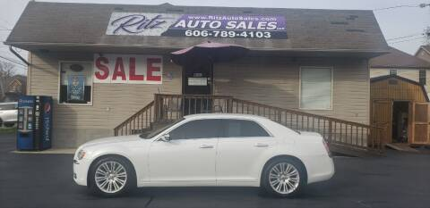 2013 Chrysler 300 for sale at Ritz Auto Sales, LLC in Paintsville KY