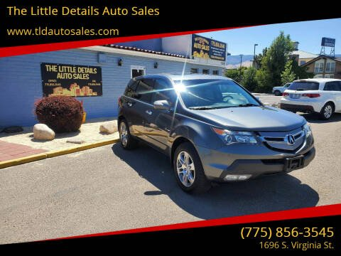 2007 Acura MDX for sale at The Little Details Auto Sales in Reno NV