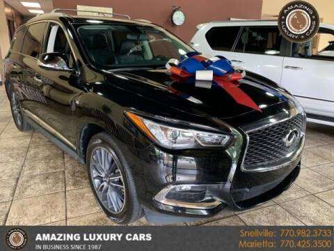 2018 Infiniti QX60 for sale at Amazing Luxury Cars in Snellville GA