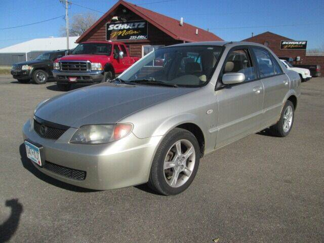 2003 Mazda Protege for sale at SCHULTZ MOTORS in Fairmont MN