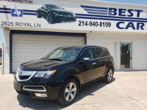 2011 Acura MDX for sale at Best Royal Car Sales in Dallas TX
